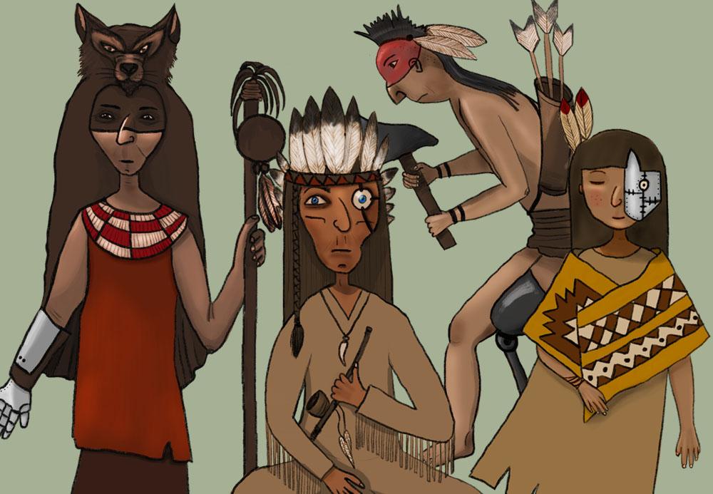 ilustracion-guerreros-biónicos
